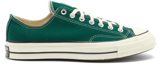 Converse Chuck 70 Canvas Trainers - Green