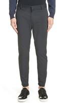 Lanvin Men's Cotton & Silk Biker Pants