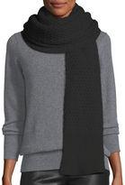Canada Goose Basket-Stitch Merino Wool Scarf