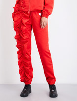 Nicopanda Park Jog skinny high-rise shell trousers