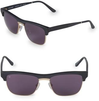 Smoke X Mirrors 53MM Uncle Albert Rectangular Sunglasses