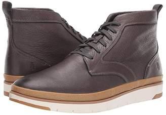Hush Puppies Caleb PT Boot (Dark Grey Leather) Men's Boots