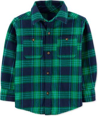 Carter's Carter Baby Boys Cotton Flannel Plaid Shirt