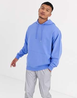 Asos Design DESIGN lightweight oversized hoodie in lilac-Purple