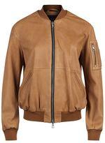 SET Leather Bomber Jacket