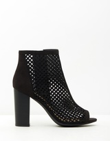 Spurr Emelia Peep-Toe Booties