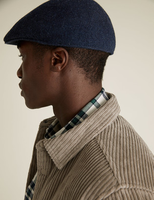 Marks and Spencer Wool Flat Cap