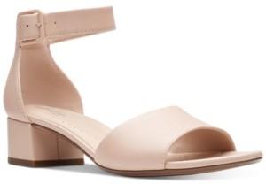 Clarks Collection Women's Elisa Dedra Dress Sandals Women's Shoes