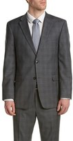 Tommy Hilfiger Nathan Classic Fit Wool Suit With Flat Front Pant.