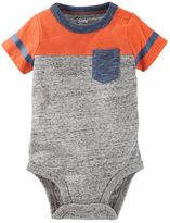 Osh Kosh Colorblock Pocket Bodysuit
