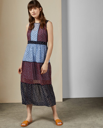 Ted Baker THYLIAA Floral dot midi dress