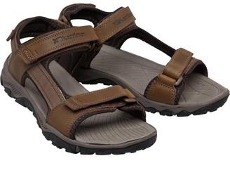 Karrimor Mens Melbourne Leather Strap Sandals Walrus