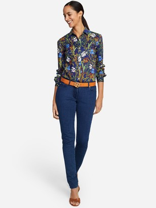 J.Mclaughlin Lois Shirt in Lilywood