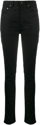 Saint Laurent High Waist Skinny-Fit Jeans