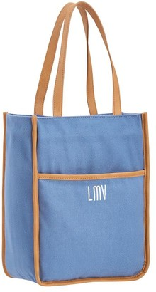 Pottery Barn Teen Northfield Solid Light Blue Tote Lunch Bag