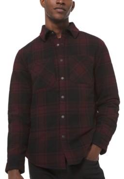 Michael Kors Men's Buffalo Plaid Shirt