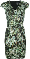 Just Cavalli printed dress - women - Polyamide/Spandex/Elastane/Viscose - 42