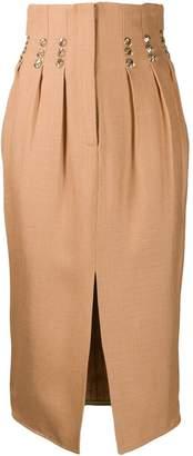 Couture Atu Body rhinestone-embellished midi skirt