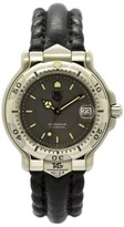 Tag Heuer 6000 WH1212 Stainless Steel / Leather with Gray Dial 35.5mm Unisex Watch
