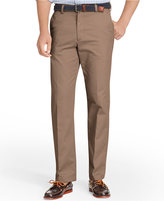 Izod Men's American Straight-Fit Flat Front Wrinkle-Free Chino Pants