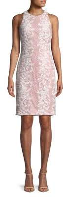 Tadashi Shoji Sleeveless Lace Sheath Dress