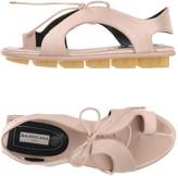 Balenciaga Toe strap sandals