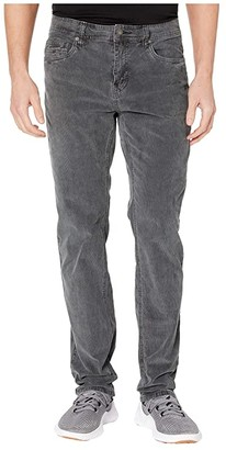 Prana Sustainer Cord Pants (Charcoal) Men's Casual Pants