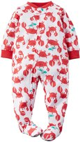 Carter's Graphic Footie (Toddler/Kid) - Crab-5T