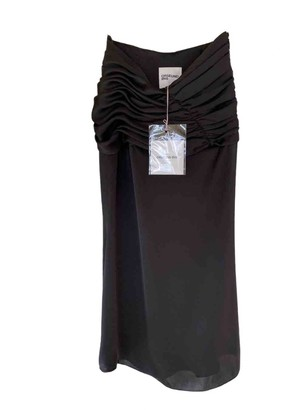 Orseund Iris Black Viscose Skirts
