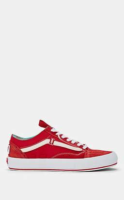 Vans Women's Old Skool Cap LX Suede & Canvas Sneakers - Red