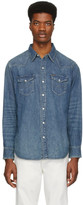 Polo Ralph Lauren Blue Denim Western Shirt