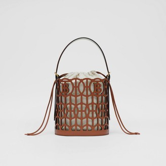Burberry Leather Rose Bucket Bag