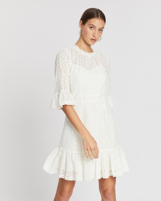 Whistles Augustina Broderie Dress