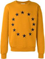 Études star embroidered sweatshirt