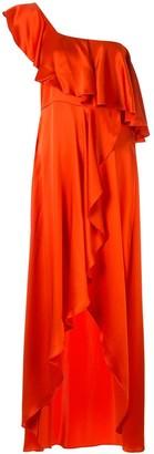 Alexis Austyn one-shoulder dress