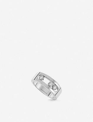 Messika Move 18ct white-gold and diamond ring