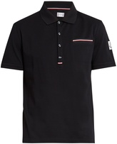 Moncler Gamme Bleu Patch-pocket cotton polo shirt