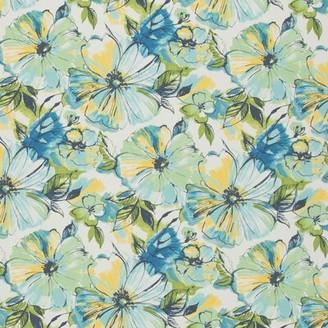 Winston Porter Canchola Fade-Resistant Indoor / Outdoor Floral Lumbar Pillow