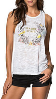 O'Neill Seaside Graphic Burnout Knit Jersey Tank Top