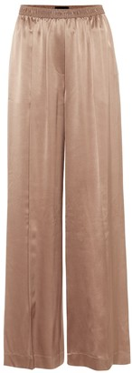 Joseph Taffy wide-leg silk-satin pants