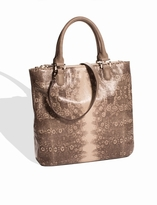 The Limited Reptile Print Tall Tote
