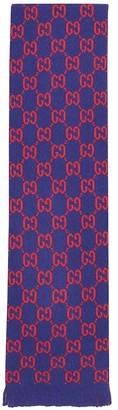 Gucci Kids GG wool scarf