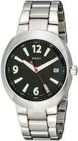 Rado Men's R15945153 D-Star Analog Display Swiss Quartz Silver Watch