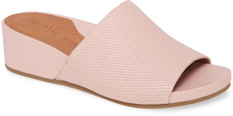 Gentle Souls by Kenneth Cole Gisele Wedge Slide Sandal