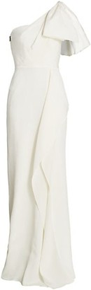Roland Mouret Belhaven One-Shoulder Gown