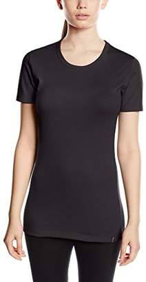 Trigema Women's 5007 T-Shirt, Black (Schwarz 008)
