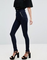 Goldie Ride The Storm High Waisted Stretch Skinny Jeans