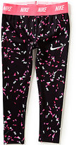 Nike Little Girls 2T-6X Dri-FIT Sport Essentials Printed Leggings