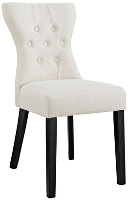 Modway Silhouette Dining Upholstered Fabric Side Chair