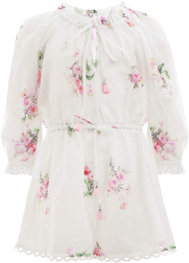Zimmermann Heathers Long Sleeve Playsuit